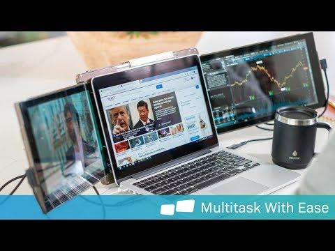 Mobile Pixels Trio Laptop Monitor | HiConsumption