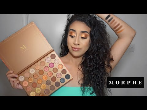 Cooper Eyeshadow - Morphe 35G Bronze Goals Palette Review