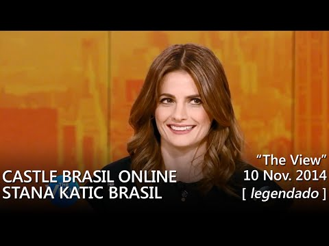 "Stana Katic @ ""The View"" - 10/11/2014 (legendado) [HD]"