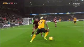 Adama Traoré vs Liverpool (Home) 21/12/2018 EPL