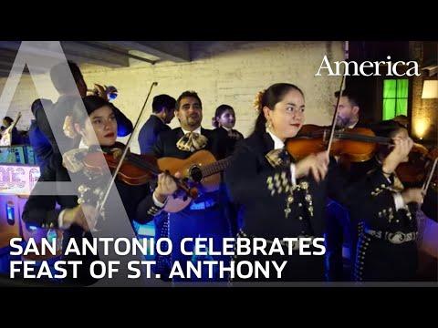 San Antonio, Texas Celebrates Feast of St. Anthony