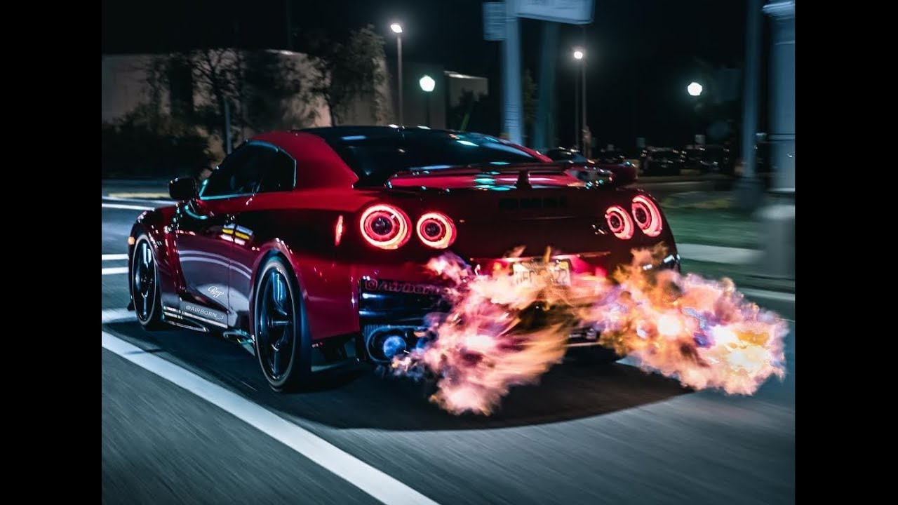 BEST OF NISSAN GTR (BACKFIRE) - YouTube