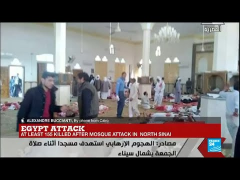 "Egypt North Sinai Attack: ""It started with a bomb, and attackers shot people fleeing the mosque"""