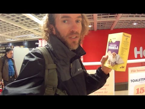 Sweden Travel: Tour of a Supermarket & Food Prices