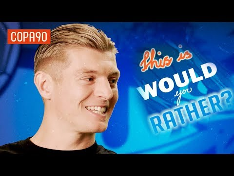 Would You Rather With Toni Kroos #LoveitLiveit with Pepsi Max