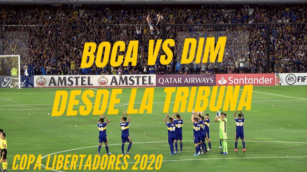 [LA 12] BOCA vs DIM | Fiesta sin bombos (4K)