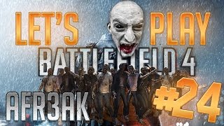 [cz|ultrahd] Let's Play Battlefield 4 Multiplayer 24# ◄ Afr3ak | Zombie MÓd