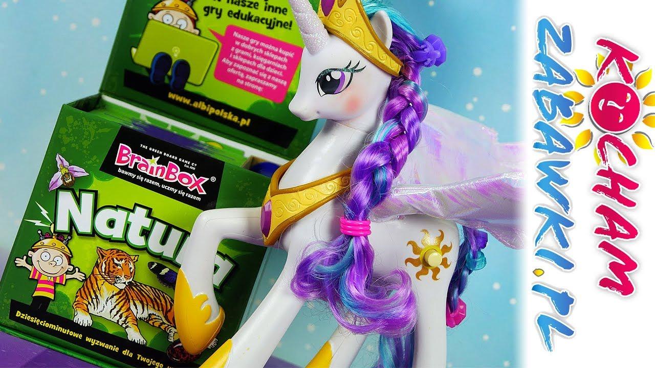 My Little Pony • Pamięć i spostrzegawczość • Brainbox Natura • Gry dla dzieci