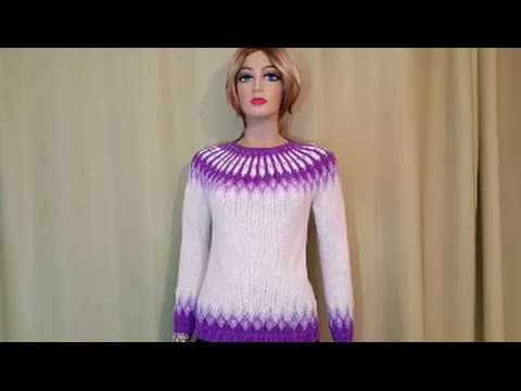 How to knit a sweater ( Part 1 )