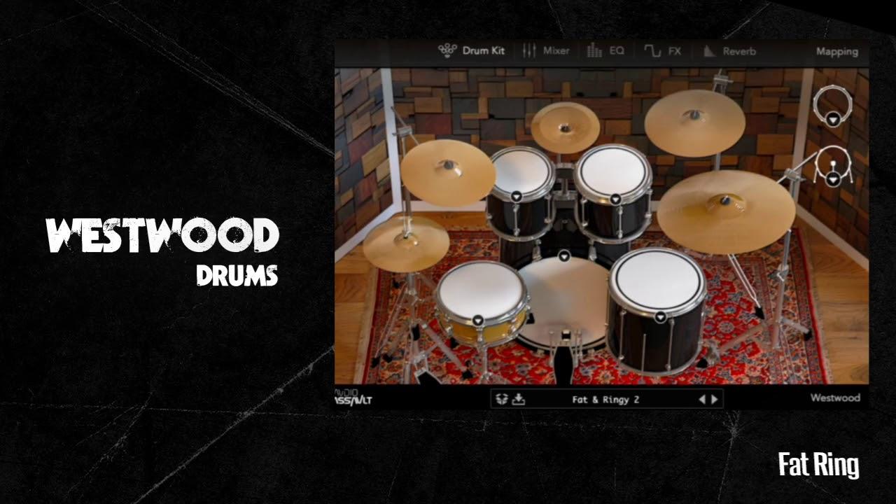 Westwood Drums virtual drum kit by Audio Assault released