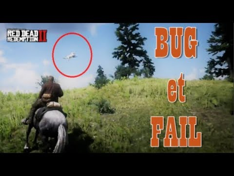 BUG et FAIL sur RED DEAD REDEMPTION 2