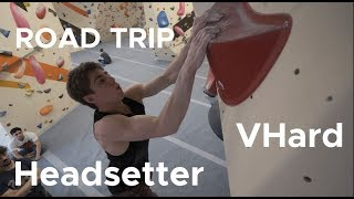 Climbs only the HEADSETTER can do || Social Climbing Leicester with Orrin Coley