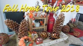 Fall Home Tour 2018 | Fall Home Decor | House Tour