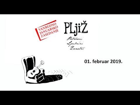 PLjiŽ - Vanredno JANUARSKO zasedanje (01.02.2019.)