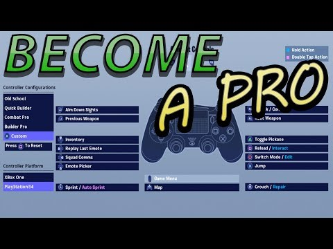 How to change Controller Keybinds Fortnite PS4 & Xbox - YouTube