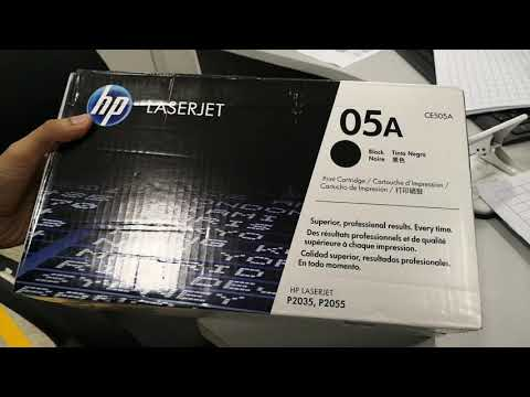 How To Toner Replace Refill HP LaserJet P2035, HP P2055