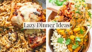 Easy Family Dinner Ideas For LAZY DAYS!