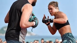 UFC 190: Open Workout Highlights