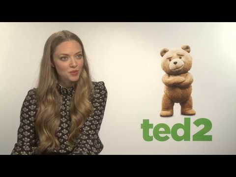 "Ted 2: Amanda Seyfried ""Samantha"" Official Movie Interview"