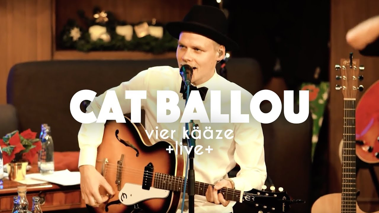 Download CAT BALLOU - VIER KÄÄZE (Live aus dem Theater am Dom)