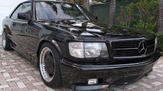 Mercedes Benz W126 + Mercedes Benz song