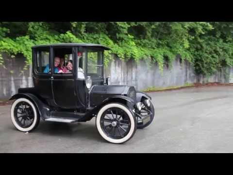 1912 Detroit Electric Car - Delta-Q Technologies - YouTube