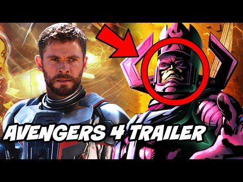 Avengers 4 Full online Leaks and Galactus Deleted Scene Explained in Hindi Avengers Infinity War
