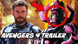 Avengers 4 Trailer Leaks and Galactus Deleted Scene Explained in Hindi Avengers Infinity War