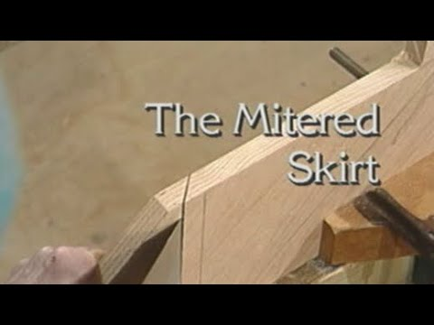 Wonderful The Mitered Skirt   How To Build Stairs