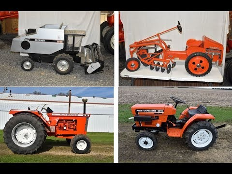 Preview of 2-Day Allis Chalmers Collector Auction in Spring Valley, MN  Sept  15-16, 2017
