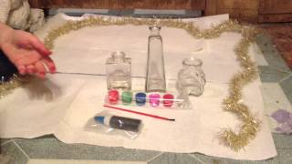Unboxing the stained glass art kit
