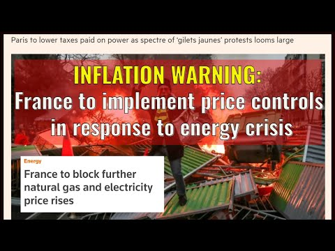 INFLATION WARNING: France to implement price controls in response to energy crisis