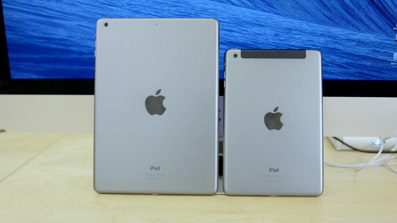 Ipad Mini Vs Ipad iPad Air vs iPad Mini ...