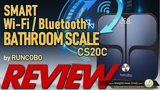 RUNCOBO CS20C Smart Wi-Fi Bluetooth Body Fat Analyzer Scale - REVIEW