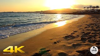 Can Pere Antoni 4K Beach GOLD SUNSET - Chillout Lounge Relaxing Palma de Mallorca | Balearic Islands