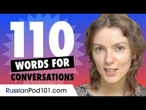110 Russian Words For Daily Life Conversations