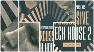 Sonny Wharton - Percussive Tech House 2 - Tech House Samples Loops