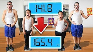 Who can GAIN the MOST WEIGHT in 24 Hours - Challenge ($15,000 Prize!)