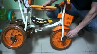 Детский трёхколёсный велосипед Jaguar ms-727(Видео обзор детского трёхколёсного велосипеда Jaguar ms-727 http://sportseason.ru/store/ms-0727., 2012-03-19T10:40:11.000Z)
