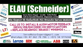 Elau Schneider Servo motor Repairs in India- Sick SKS/SKM encoder Memory Read and Alignment