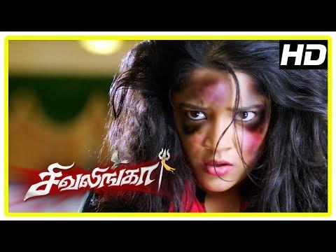 Generate Shivalinga Movie Scenes | Raghava Lawrence starts inquiring Rithika | Urvashi Pictures