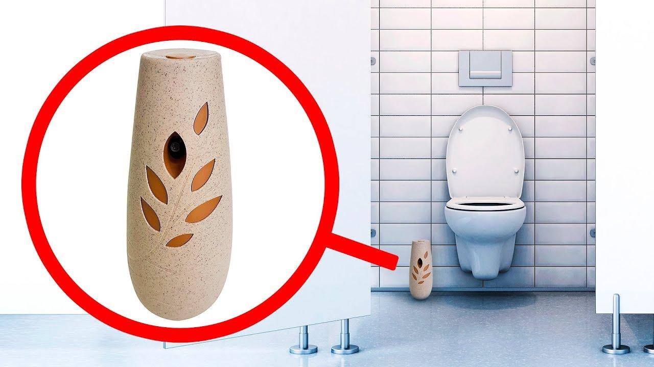 Caméra cachée dans les salles de bains publique