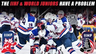 The IIHF & World Junior Tournament Have a Problem