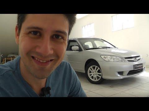 Caçador de Carros: Honda CIVIC 2005 com 28 mil km
