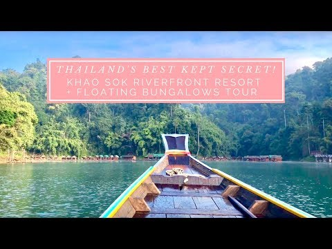 Khao Sok Riverfront Resort and Floating Bungalows Tour - Thailand's Best Kept Secret!