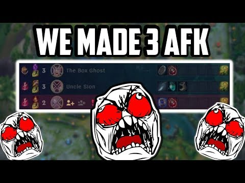 We made 3 Enemies RAGE QUIT/AFK in 4 Minutes! - League of Legends thumbnail