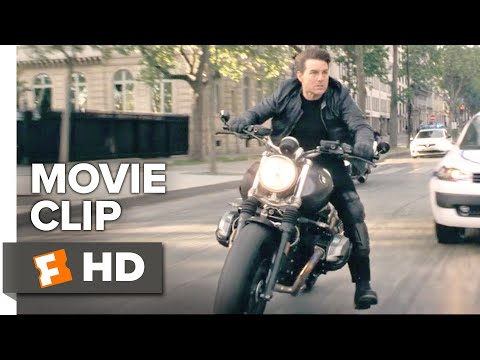 Mission: Impossible - Fallout Movie Clip - Arc dTriomphe (2018)   Movieclips Coming Soon
