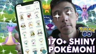 MY FULL POKÉMON GO SHINY COLLECTION! [170+ Shiny Pokémon]