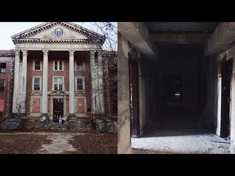EXPLORING AN ABANDONED MENTAL HOSPITAL/ASYLUM
