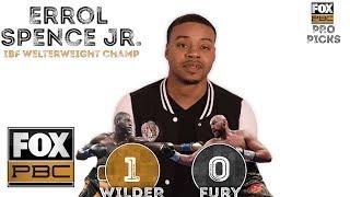 Pros weigh in on Wilder vs Fury | PRO PICKS | PBC ON FOX